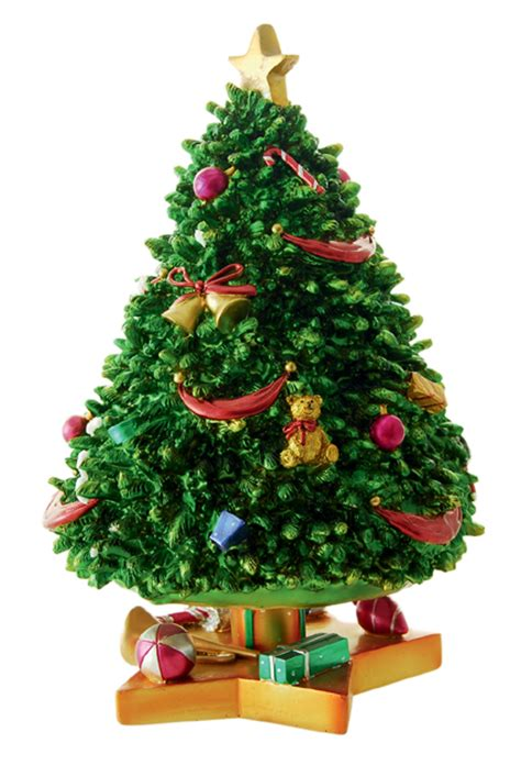 decorated christmas tree figurine 53094