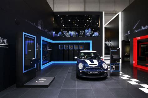 design mini booth mini exhibition stand motor show geneva 2006 design