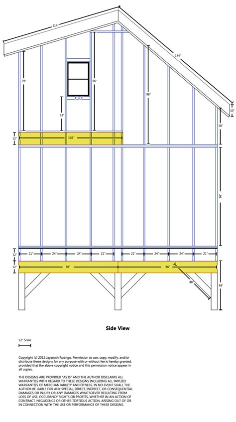 free 14 x 36 shed plans bamboo furniture my shed building plans