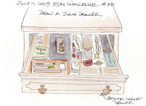 junk drawer drawing