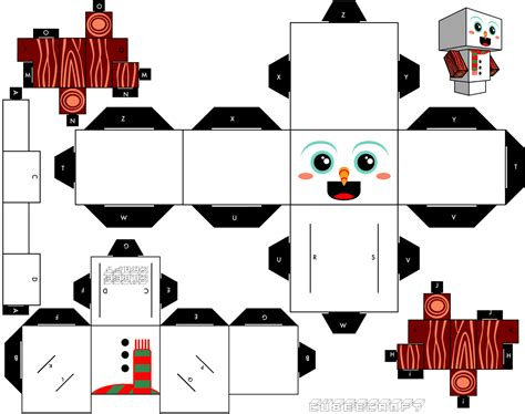 Papercraft Gratis - navidad manualidades a raudales