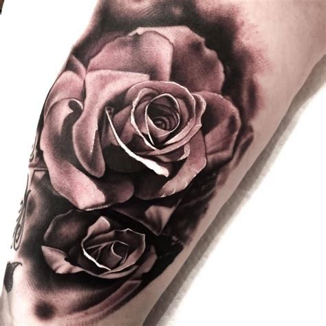 single rose tattoo design 30 terrific levi barnett on arm golfian