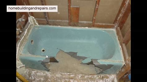 cast iron bathtub removal how to remove cast iron tub with big hammer bathroom