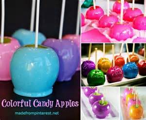 how to make colored apples 17 best images about meme s caramel apples on