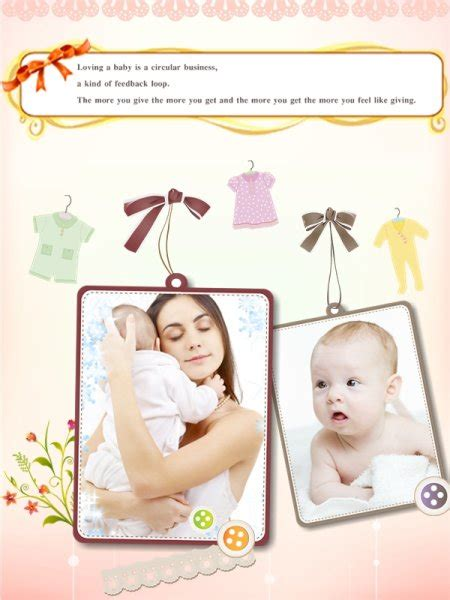baby photo collage template free baby collage card add on templates free