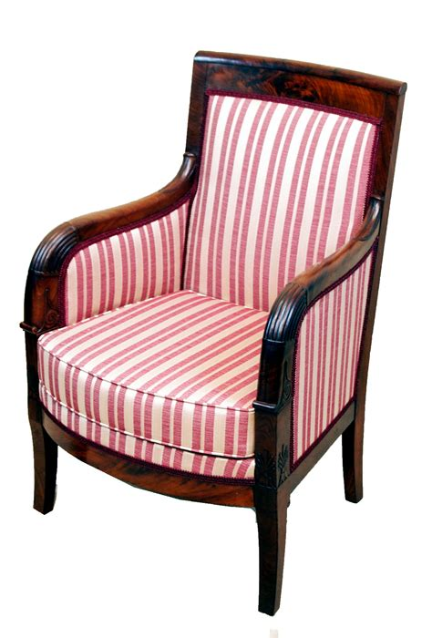 armchair french antique french empire library armchair c 1830 france