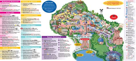 map of parks wdw park maps wdwprince