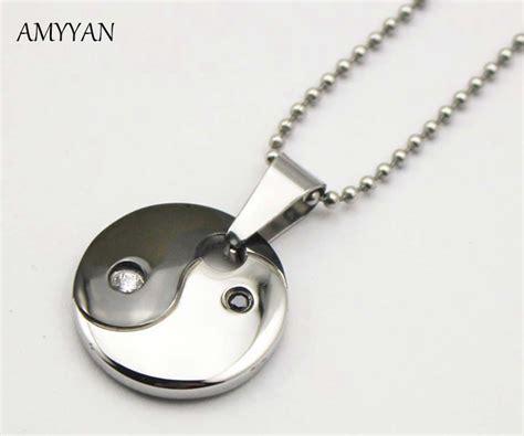 316l Stainless Steel Yin Yang Pendant Necklace Norse Vikings Ru buy wholesale magnetic pendant necklace from china magnetic pendant necklace wholesalers