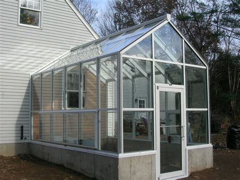 side of house greenhouse horticultural hobby greenhouse glass house llc