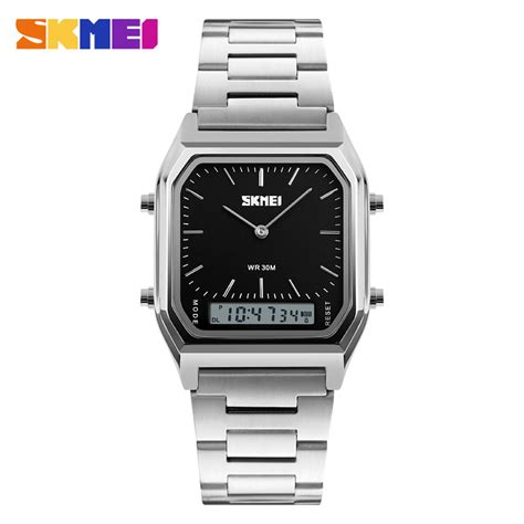 Skmei 9105cs Casual Stainless Water Resistant 30m paytm watches