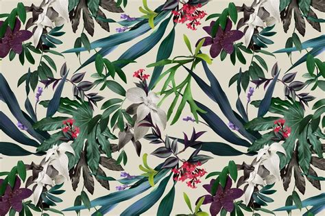 hawaii pattern photoshop tropical pattern background tumblr google search