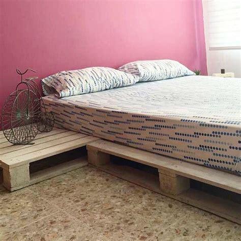 cama con estibas cama hecha 100 en estibas recicladas radiata deco