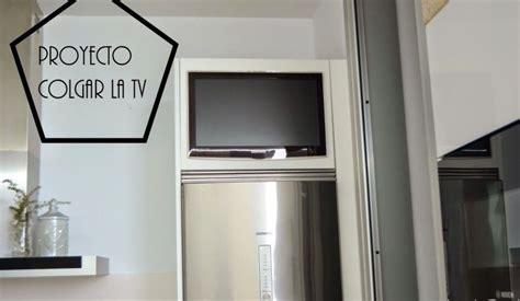 armario de tele proyecto integrar la tele en un armario de cocina