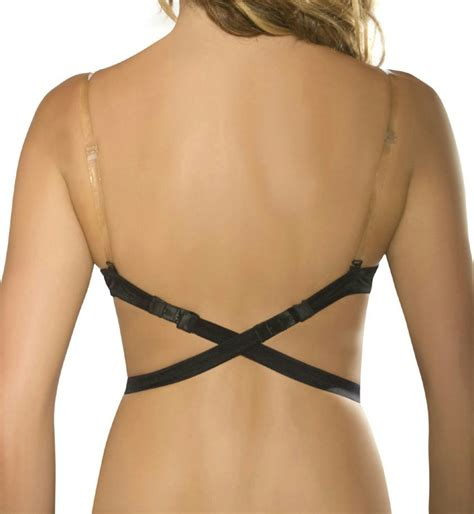 New Lingerie Solutions By Fashion Forms Low Back Bra Strap 1 Clear Strap Ebay Clear Bra Templates