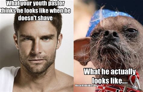 youth pastor facial hair meme christian memes