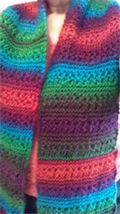 Landscape Yarn Patterns Apple Orchard Scarf Knit Easy Scarf Knitting
