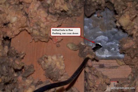install  tv antenna   attic   rid