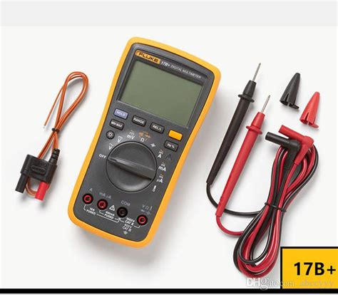 17b Fluke Digital Multimeter Ac Voltage 400mv To 1000v 2017 fluke 17b ac dc voltage current capacitance ohm auto
