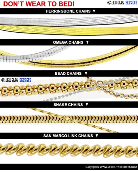 can you wear tons to bed types of gold jewelry chains beautyful jewelry