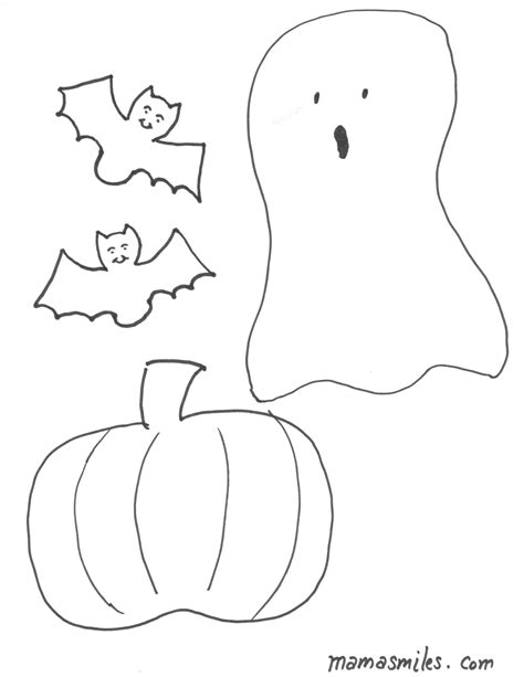 simple ghost coloring page simple ghost coloring pages