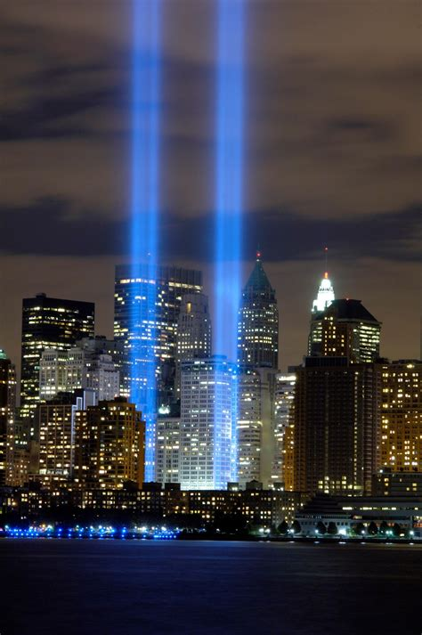 never out clear lights 9 11 remembrance