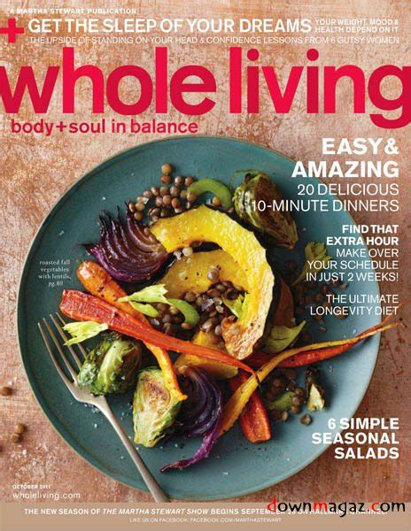Whole Living Detox 2011 by Free Health Magazine Fresh Healthy Article