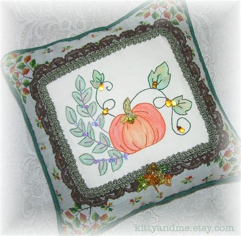 and me designs decorative embroidered pillows for