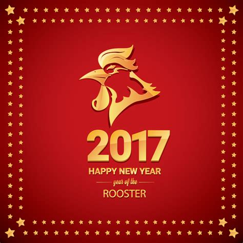 new year for rooster 2016 rooster new year border merry and happy new