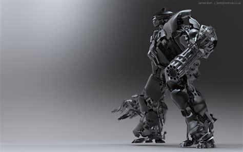 desktop wallpaper hd robots james brett mecha roboter 3d hintergrundbilder james
