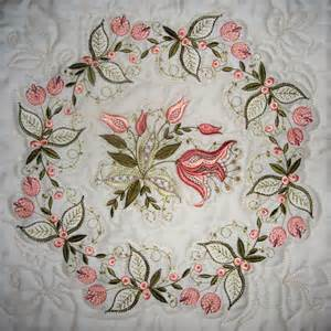 jacobean jewels embroidery patterns and machine