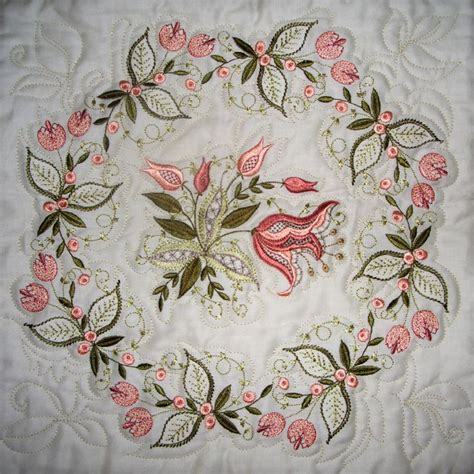 Quilting Designs For Embroidery Machine by Jacobean Jewels Embroidery Patterns And Machine