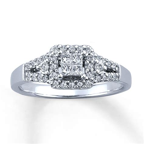 sterlingjewelers engagement ring 1 3 ct tw 10k