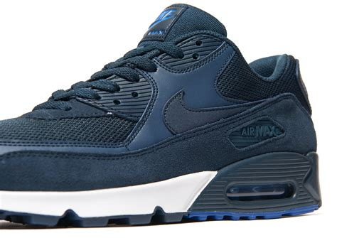 Nike Airmax 90 Army nike air max 90 army trainers in blue for lyst