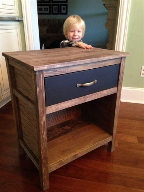 one drawer night stand plans diy cooper nightstand free plans rogue engineer