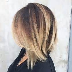 highlights with blonde and dark on chin length hair 31 best shoulder length bob hairstyles stayglam