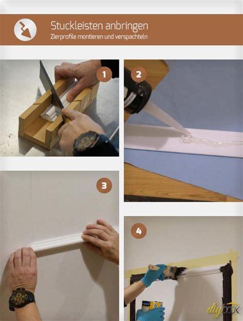 Wandgestaltung Steine Wohnzimmer 976 by Die Besten 25 Zierleisten Ideen Auf
