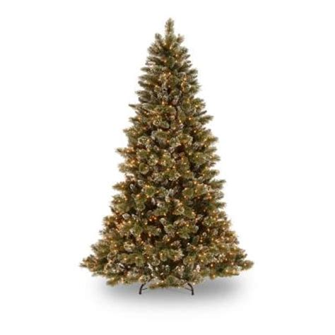 7 fr martha stewart slim christmas tree martha stewart living 7 5 ft sparkling pine artificial tree with 750 clear lights gb1