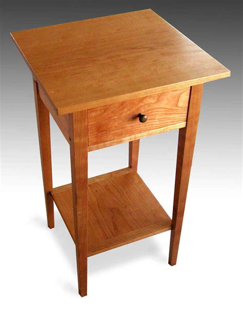 cherry wood end tables furniture shaker furniture to fit cherry end table shaker