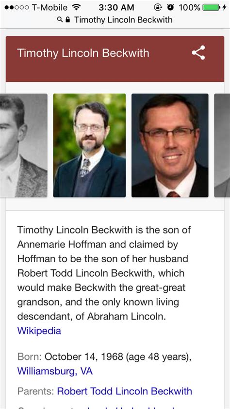 any descendants of abraham lincoln are there any direct descendants of abraham lincoln still