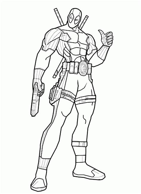 deadpool coloring pages for adults deadpool coloring pages coloring home