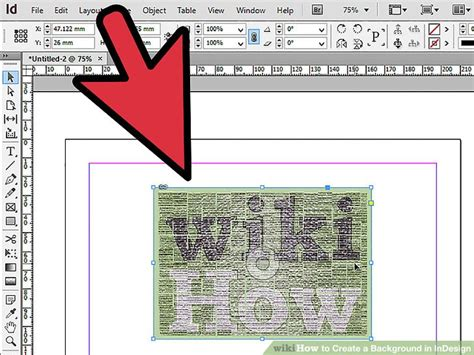 pattern background indesign 3 easy ways to create a background in indesign wikihow