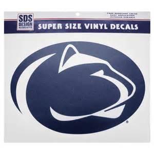 penn state alumni sticker penn state 12 quot logo decal souvenirs gt car accessories gt decals