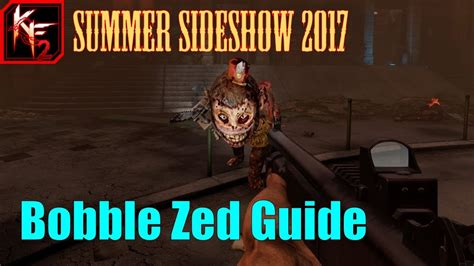 killing floor 2 quot bobble zed quot weekly outbreak guide youtube