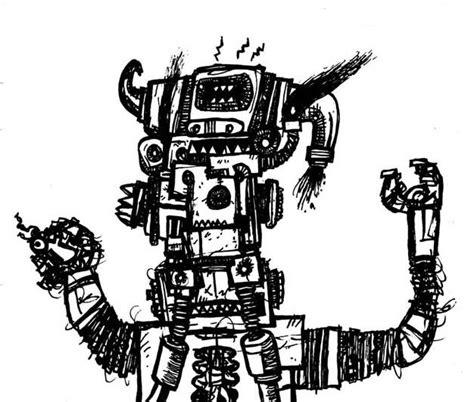 doodlebug drawing robot robot doodle drawings