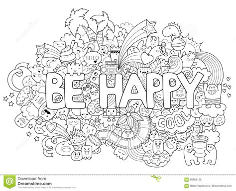 coloring pages for adults vector printable coloring page for adults with cartoon characters