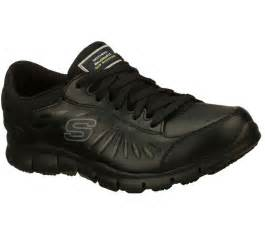 76551 black skechers shoe work memory foam relaxed