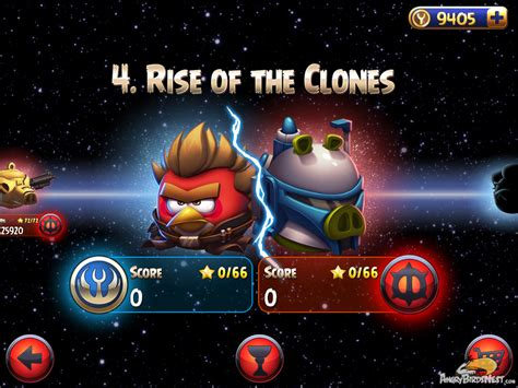 angry birds star wars 2 update angry birds star wars ii rise of the clones update out now