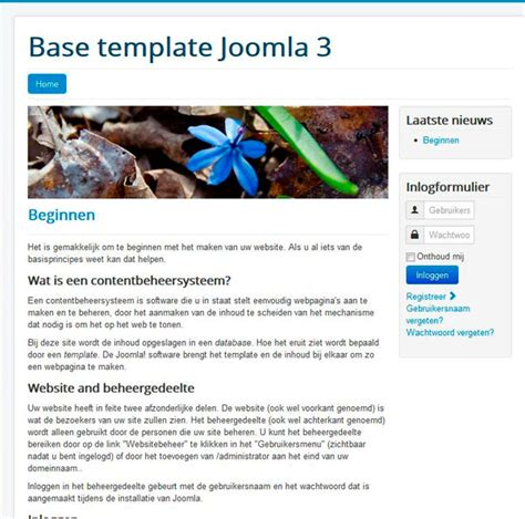 protostar joomla template joomla 3 5 stable release with some new features