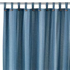 Bed Bath Beyond Shower Curtains eco ordinates 174 houston denim 70 quot x 72 quot recycled fabric