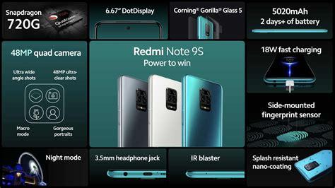 redmi note  unveiled  sdg soc mah battery